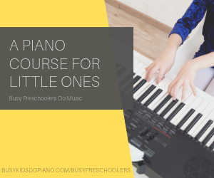A piano COURSE FOr little ones