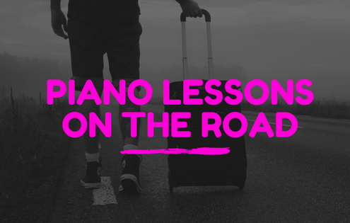 Piano lessons on the road