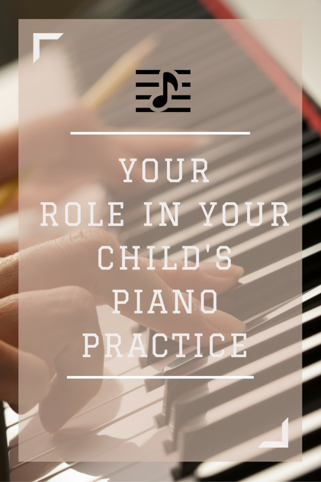 Understand your role in your child's piano practice by reading these tips.