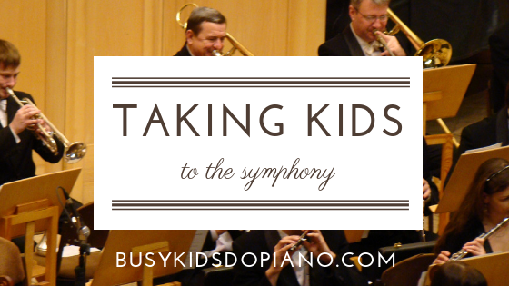 Taking Kids to the Symphony