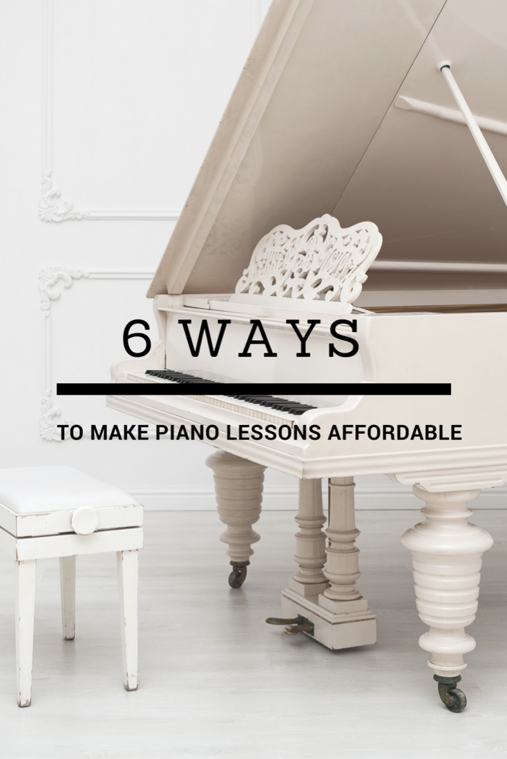 Affordable Piano Lessons: How To Make It Happen