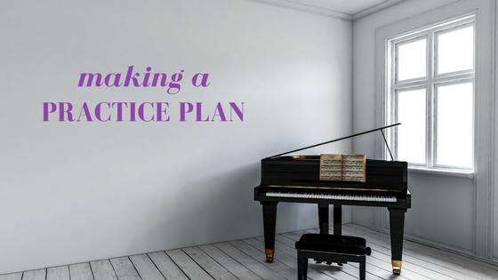 Making A Practice Plan.