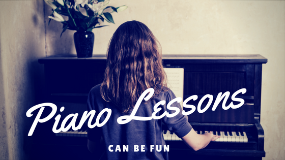 Piano Lessons CAN Be Fun.