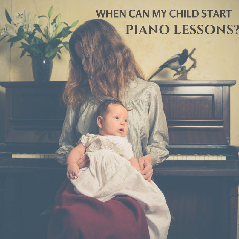When Can My Child Start Piano Lessons?