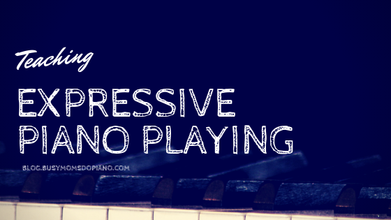 Teaching Expressive Piano Playing