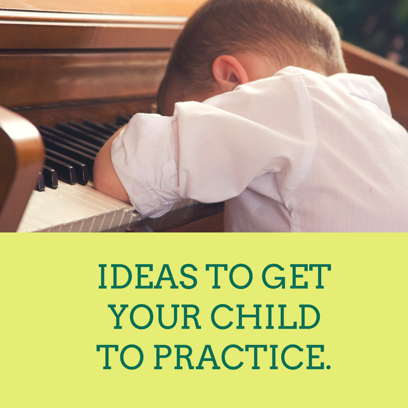 Ideas to Get Your Child to Practice Piano.
